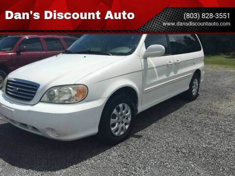 2005 Kia Sedona for sale at Dan's Discount Auto in Gaston SC