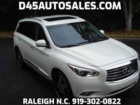 2013 Infiniti JX35 for sale at D45 Auto Brokers in Raleigh NC