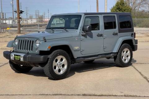 2015 Jeep Wrangler Unlimited for sale at Island Auto Off-Road & Sport in Grand Island NE