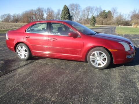 2007 Ford Fusion for sale at Crossroads Used Cars Inc. in Tremont IL