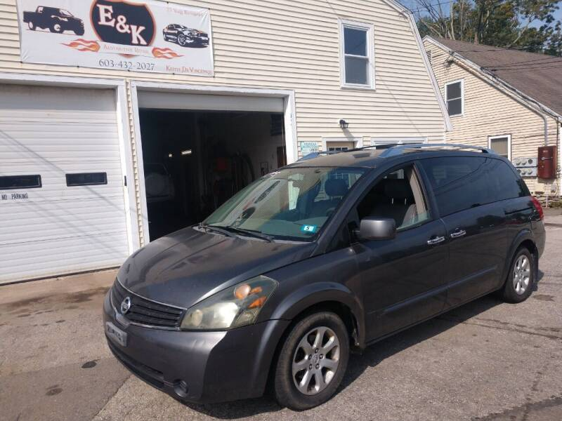 2008 Nissan Quest for sale at E & K Automotive in Derry NH