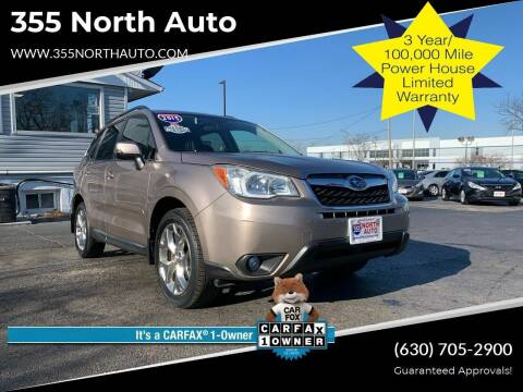 2015 Subaru Forester for sale at 355 North Auto in Lombard IL