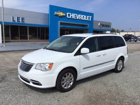 2016 Chrysler Town and Country for sale at LEE CHEVROLET PONTIAC BUICK in Washington NC