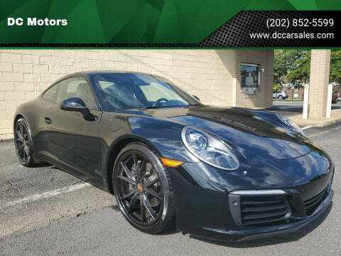 2017 Porsche 911 for sale at DC Motors in Springfield VA