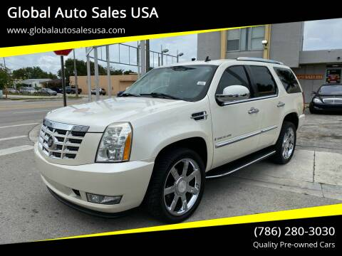 2007 Cadillac Escalade for sale at Global Auto Sales USA in Miami FL