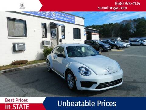 2018 Volkswagen Beetle for sale at S & S Motors in Marietta GA