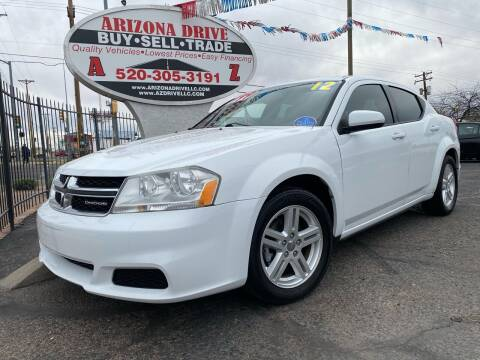 2012 Dodge Avenger for sale at Arizona Drive LLC in Tucson AZ