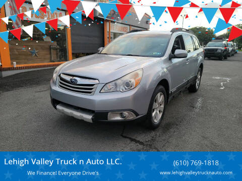 2012 Subaru Outback for sale at Lehigh Valley Truck n Auto LLC. in Schnecksville PA