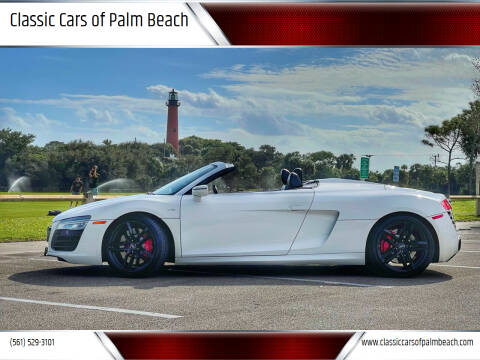 2015 Audi R8 for sale at Classic Cars of Palm Beach in Jupiter FL