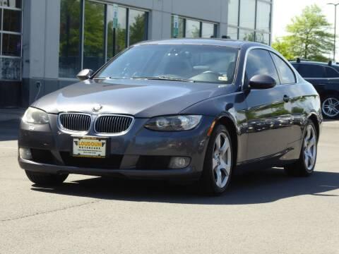 2007 BMW 3 Series for sale at Loudoun Used Cars - LOUDOUN MOTOR CARS in Chantilly VA