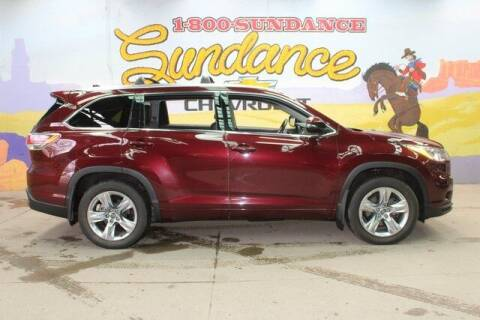 2016 Toyota Highlander for sale at Sundance Chevrolet in Grand Ledge MI