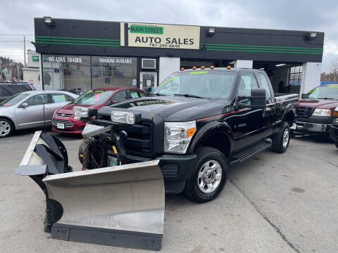 2016 Ford F-350 Super Duty for sale at Wakefield Auto Sales of Main Street Inc. in Wakefield MA