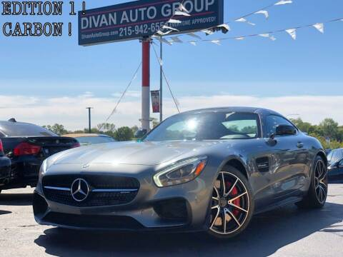 2016 Mercedes-Benz AMG GT for sale at Divan Auto Group in Feasterville Trevose PA