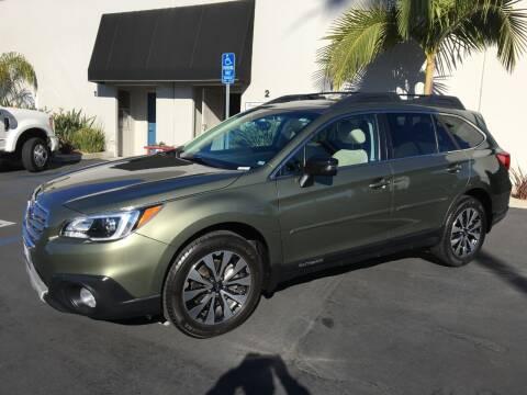 2016 Subaru Outback for sale at MANGIONE MOTORS ORANGE COUNTY in Costa Mesa CA