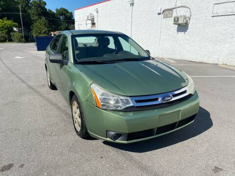 2008 Ford Focus for sale at LUXURY AUTO MALL in Tampa FL
