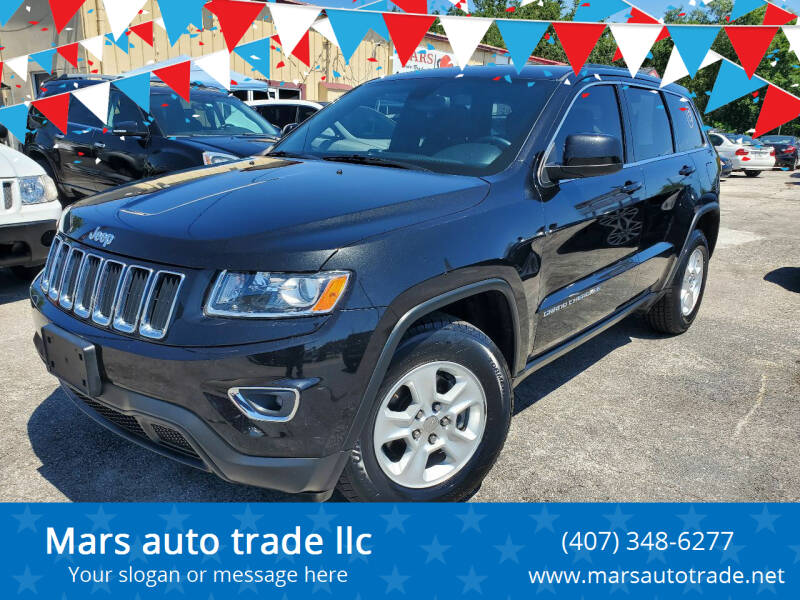 2014 Jeep Grand Cherokee for sale at Mars auto trade llc in Kissimmee FL