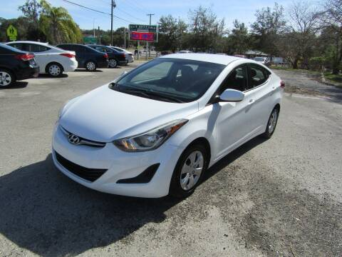 2016 Hyundai Elantra for sale at S & T Motors in Hernando FL
