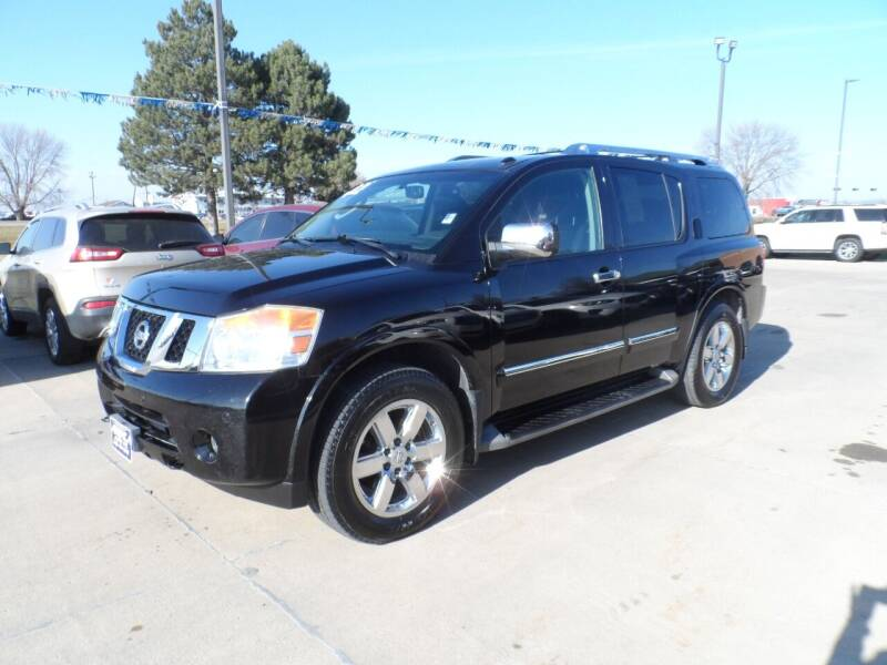 2012 Nissan Armada for sale at America Auto Inc in South Sioux City NE