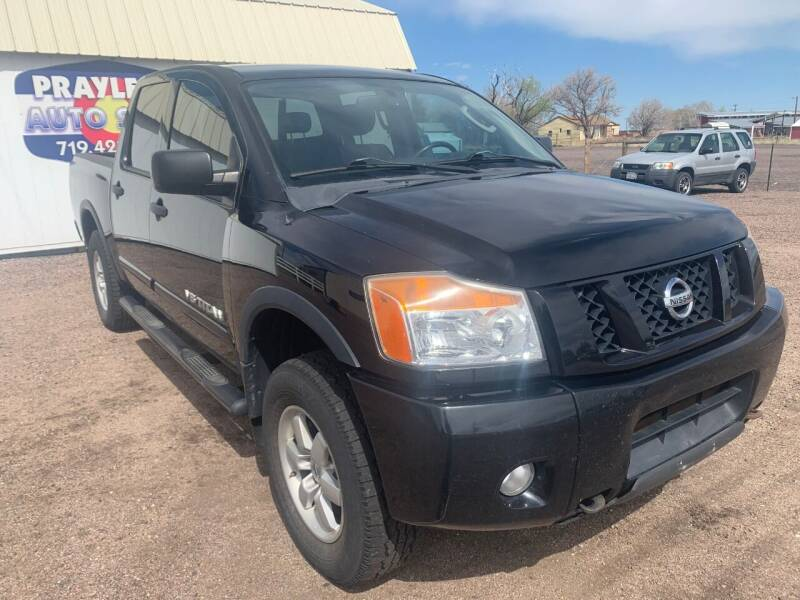 2010 Nissan Titan for sale at Praylea's Auto Sales in Peyton CO