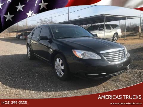 2014 Chrysler 200 for sale at Americas Trucks in Jones OK