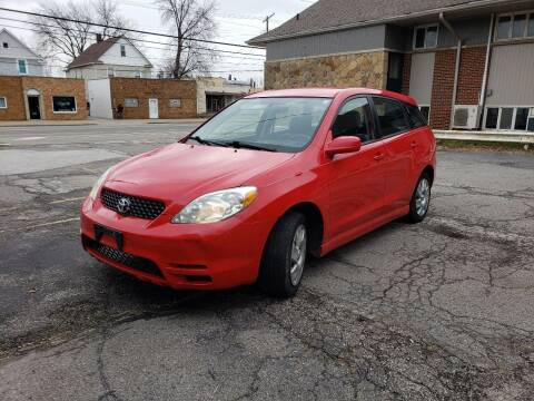 2004 Toyota Matrix for sale at USA AUTO WHOLESALE LLC in Cleveland OH