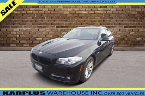 2015 BMW 5 Series for sale at Karplus Warehouse in Pacoima CA