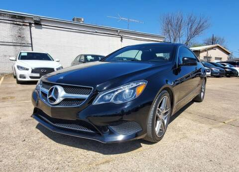 2016 Mercedes-Benz E-Class for sale at International Auto Sales in Garland TX