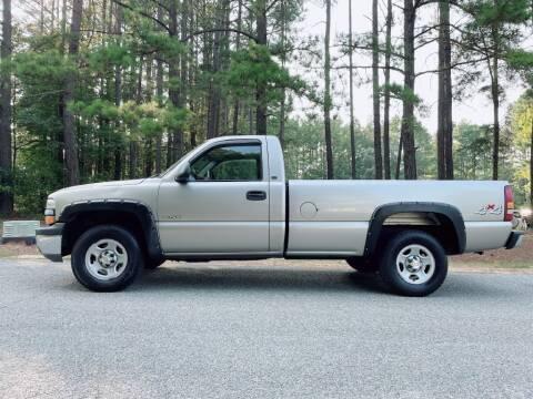 2002 Chevrolet Silverado 1500 for sale at H&C Auto in Oilville VA