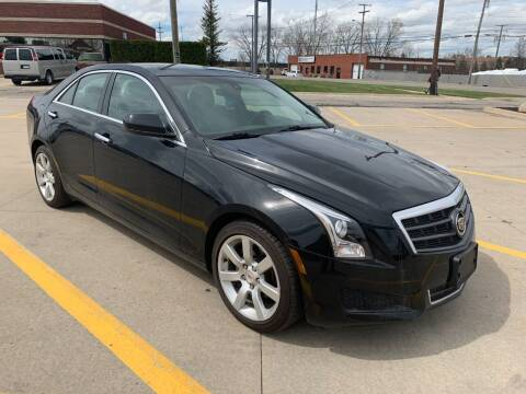 2013 Cadillac ATS for sale at City Auto Sales in Roseville MI