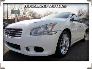 2013 Nissan Maxima for sale at Rockland Automall - Rockland Motors in West Nyack NY