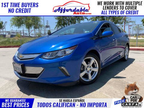 2017 Chevrolet Volt for sale at Affordable Auto Solutions in Wilmington CA