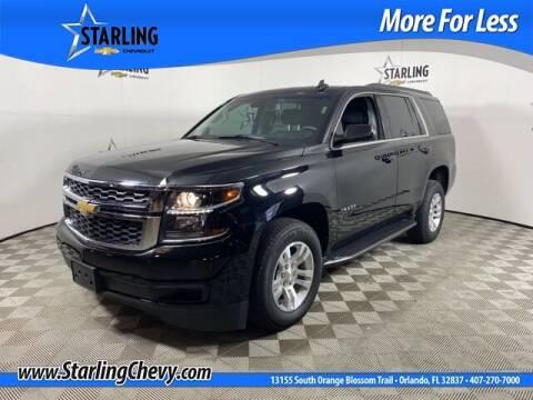 2019 Chevrolet Tahoe for sale at Pedro @ Starling Chevrolet in Orlando FL
