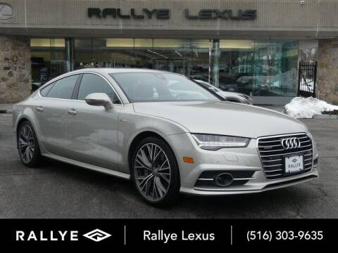 2018 Audi A7 for sale at RALLYE LEXUS in Glen Cove NY