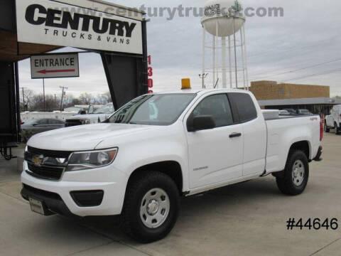 2016 Chevrolet Colorado for sale at CENTURY TRUCKS & VANS in Grand Prairie TX