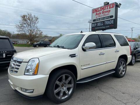 2008 Cadillac Escalade for sale at Unlimited Auto Group in West Chester OH