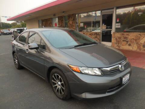 2012 Honda Civic for sale at Auto 4 Less in Fremont CA