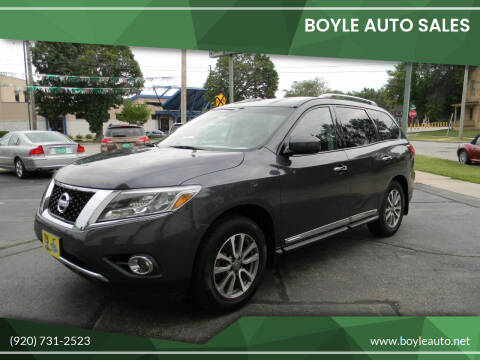 2013 Nissan Pathfinder for sale at Boyle Auto Sales in Appleton WI