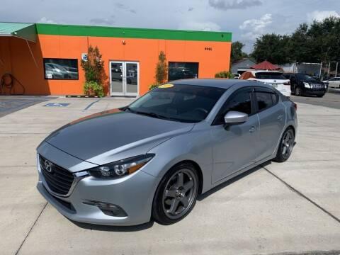 2018 Mazda MAZDA3 for sale at Galaxy Auto Service, Inc. in Orlando FL