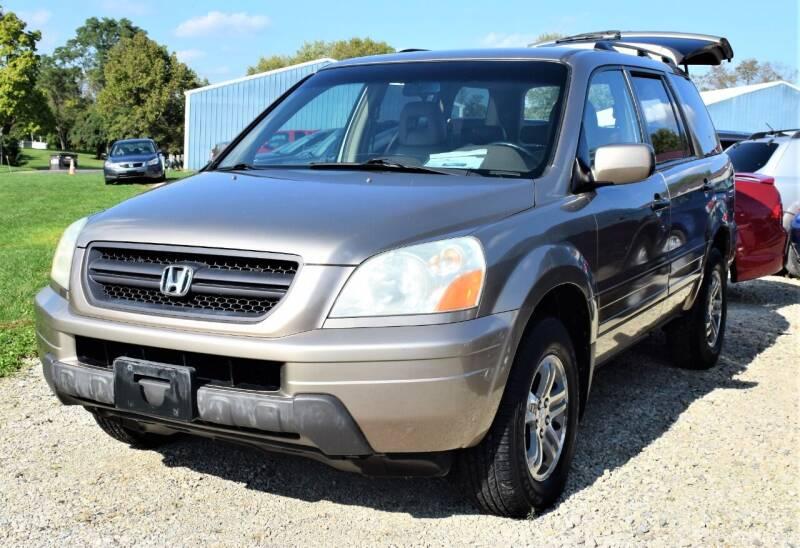 2003 Honda Pilot for sale at PINNACLE ROAD AUTOMOTIVE LLC in Moraine OH