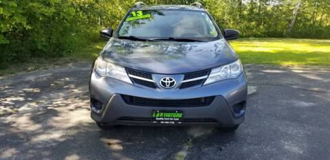 2013 Toyota RAV4 for sale at L & R Motors in Greene ME