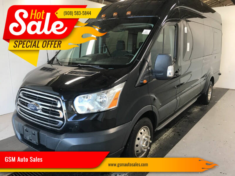 2015 Ford Transit Passenger for sale at GSM Auto Sales in Linden NJ