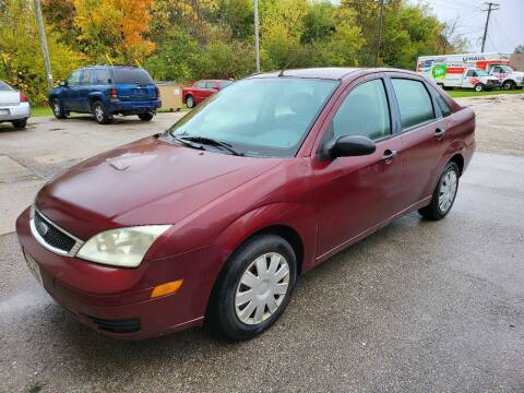 2007 Ford Focus for sale at JDL Automotive and Detailing in Plymouth WI