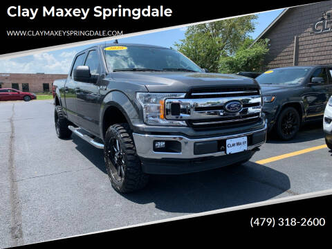 2020 Ford F-150 for sale at Clay Maxey Springdale in Springdale AR