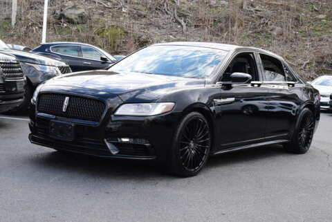 2017 Lincoln Continental for sale at Automall Collection in Peabody MA