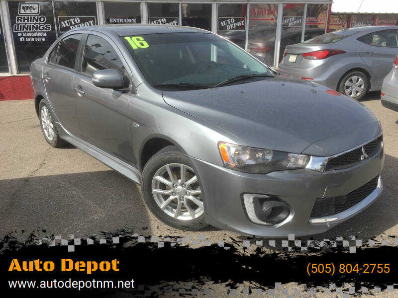 2016 Mitsubishi Lancer for sale at Auto Depot in Albuquerque NM