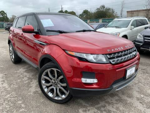 2015 Land Rover Range Rover Evoque for sale at KAYALAR MOTORS in Houston TX