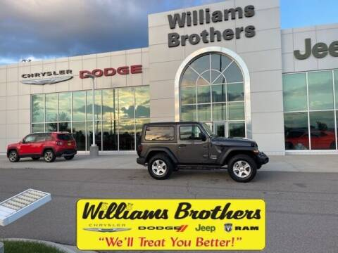 2018 Jeep Wrangler for sale at Williams Brothers - Pre-Owned Monroe in Monroe MI