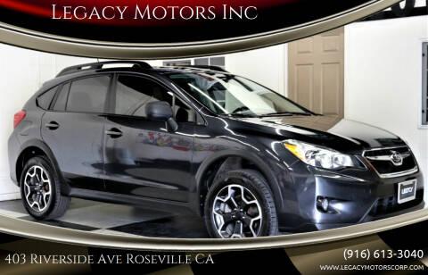 2013 Subaru XV Crosstrek for sale at Legacy Motors Inc in Roseville CA