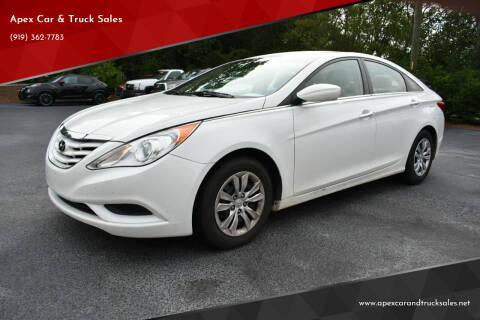 2012 Hyundai Sonata for sale at Apex Car & Truck Sales in Apex NC