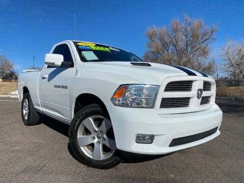 2012 RAM Ram Pickup 1500 for sale at UNITED Automotive in Denver CO